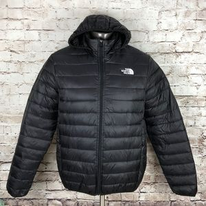 North face packable puffer jacket - Black